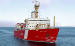 CCGS Louis S. St-Laurent, icebreaker for Phaeton mission PX-9. Phaeton image by Alex Ivanov